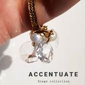 New ! Limited spring  collection of rings  Each piece is unique and handmade  Brass /24k gold  plated Новая серия колец от ACCENTUATE ! Каждое колечко создано вручную , уникально и неповторимо.  #Accentuate#artdesign#accentuateartcollections#art#artisan#paris#spring#artisanat#ring