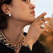 RocKet Queen collection 💫 Enquiries DM/lena.romanenko@gmail.com  _ #Accentuate#RocketQueen#rings#style#fashion#art#
