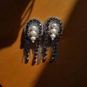 They are just perfect❣Please, DM for orders/ купить и узнать стоимость 👉ДИРЕКТ Silver&raw pearls