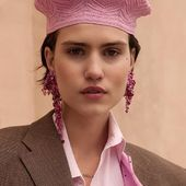 💓ACCENTUATE  SAKURA clips & pink beret MAKE THE ORDER VIA DM or LENA.ROMANENKO@GMAIL.COM  #Accentuate#pink#color#collection#style#mood#art#springfashion#paris#streetstyle#look#ootd#candy#photoshoot