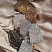#Bestseller SS19-20 GLITTER clips 💥 Honey,  hematite , white crystal, light pink chameleon, pink  Now Available / PLACE THE ORDER👉DIRECT👉DIRECT