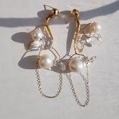 ECLIPSE earrings  DM,please /worldwide shipping /ДИРЕКТ , пожалуйста