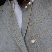 ECLIPSE #1# earrings wearing like a brooch 👌🏼
