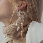 Caramel cuff earring Please, DM